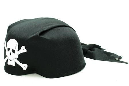 Pirathatt Maskeradkläder