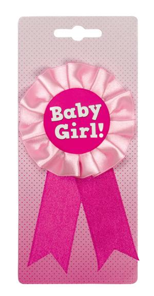Baby Girl Rosett Baby Shower