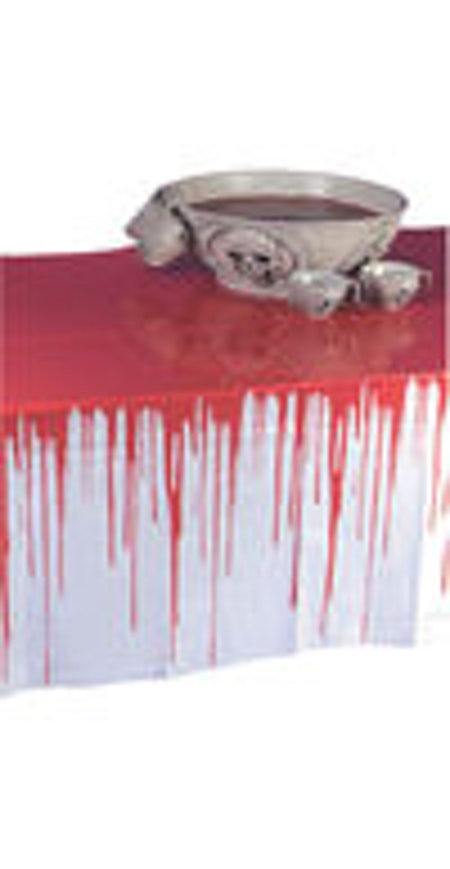 Blodig bordsduk Halloween