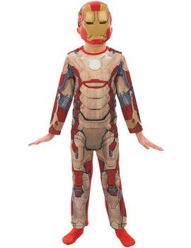 Iron Man 3 Maskeraddräkt med Mask