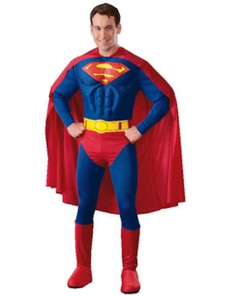 Superman med Muskler Maskeraddräkt