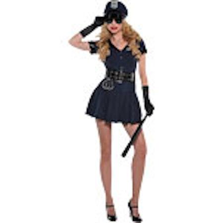 Sexig Poliskonstapel Maskeraddräkt