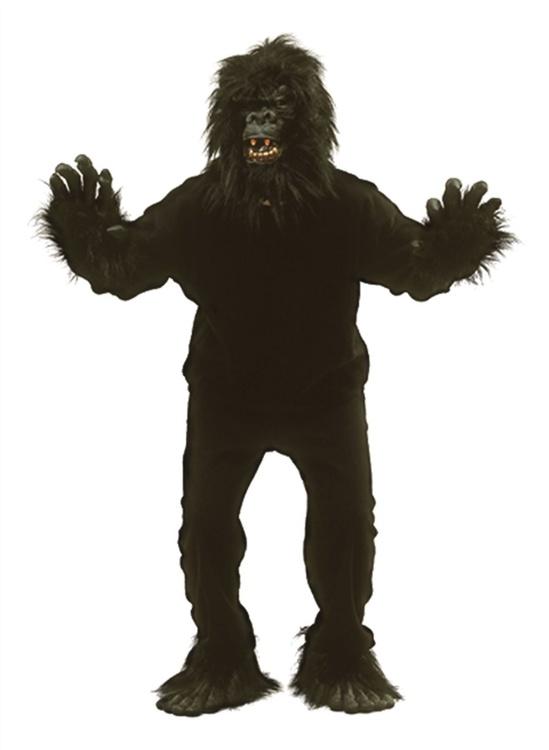 Gorilla dräkt Maskeraddräkt