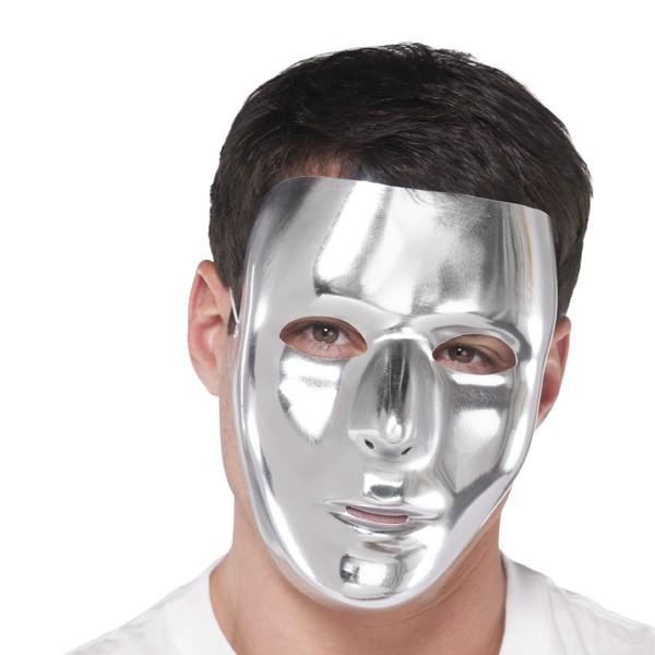 Heltäckande ansiktsmask Silver