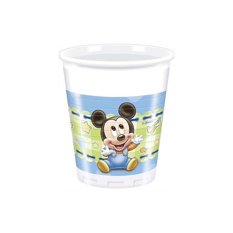 Mickey Mouse plastmugg 8-pack