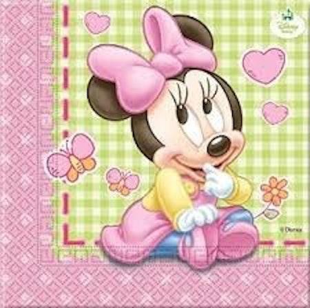 Disney Mimmi Pigg Minnie Mouse servetter 20-pack