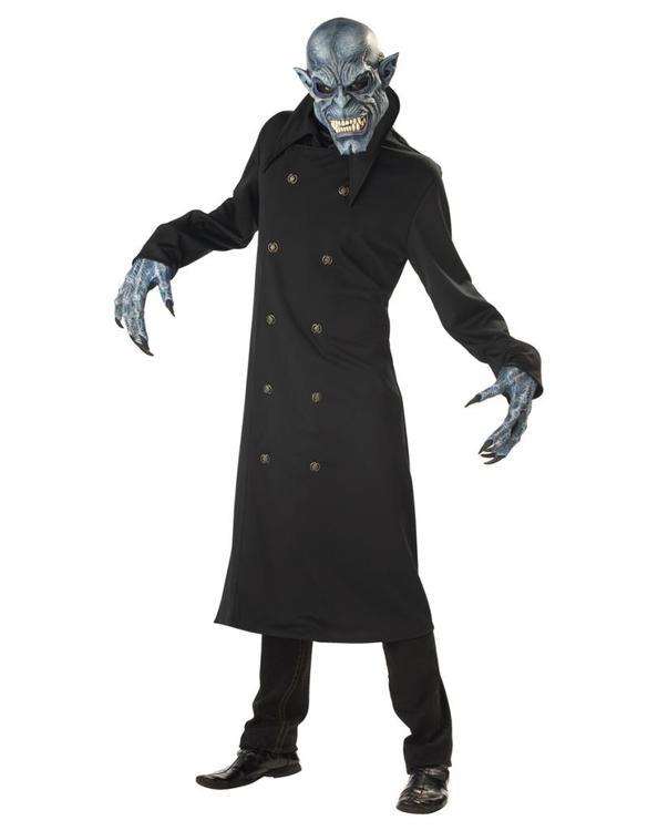 Nattens Skräck Maskeraddräkt med Mask