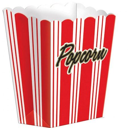 Popcorn bägare 8-pack