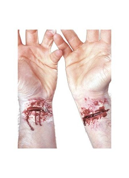 Uppskuret Slashed Wrists