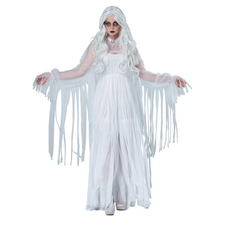 Spöklig Ande Maskeraddräkt