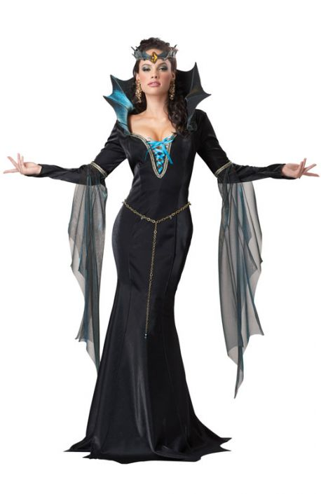 Elak Häxa Maskeraddräkt Halloween