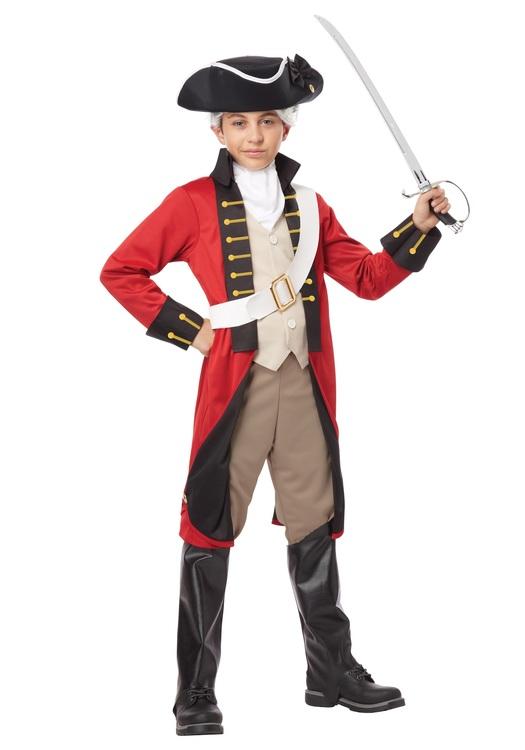 Brittisk Soldat Barn Maskeraddräkt