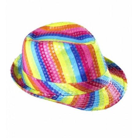 Pride hatt multifärgad