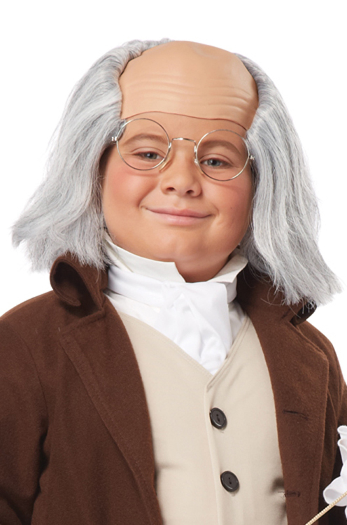 Benjamin Franklin peruk Barn