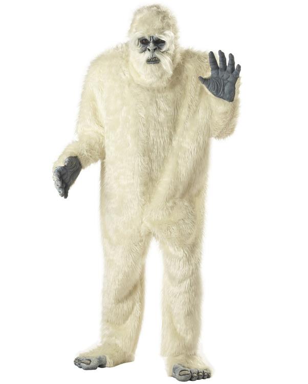 Smömannen Deluxe Big Foot Maskeraddräkt