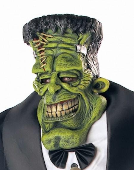 Frankenstein med Mask Händer Big Frank Maskeraddräkt Halloween