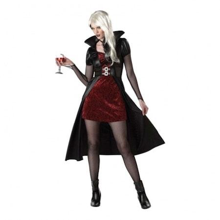 Blodtörstig skönhet Blood thirsty Beauty Maskeraddräkt Halloween