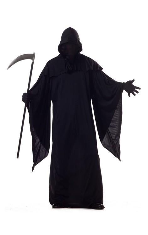 Döden Liemannen Maskeraddräkt Halloween
