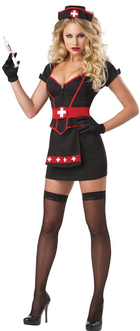 Sjuksköterska Svart