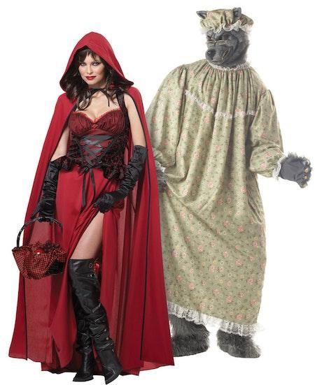 Rödluvan Deluxe Maskeraddräkt Halloween