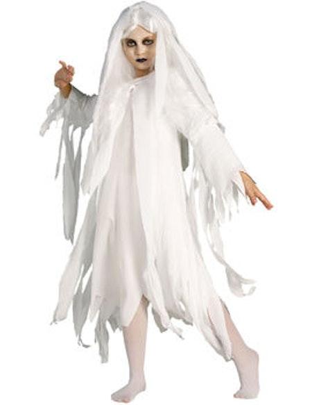 Spökflicka Barn Maskeraddräkt
