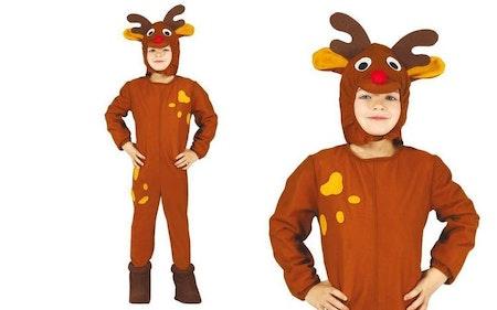 Rudolf med röda mulen Maskeraddräkt