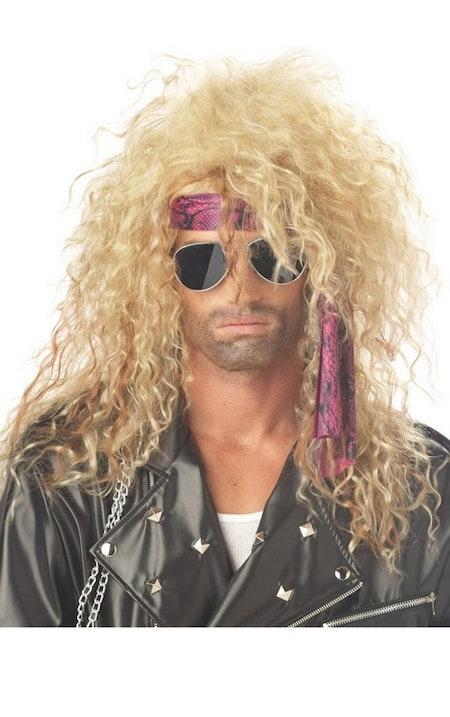 Heavy Metal peruk blond