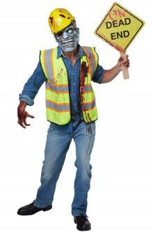 Vägarbetare Zombie