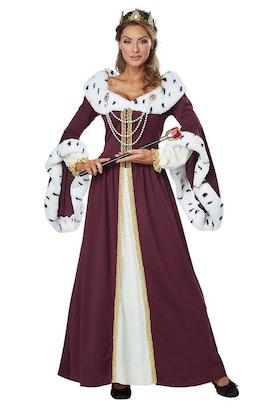 Deluxe Drottning Maskeraddräkt Royal Storybook Queen