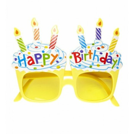 Grattis Glasögon Happy Birthday