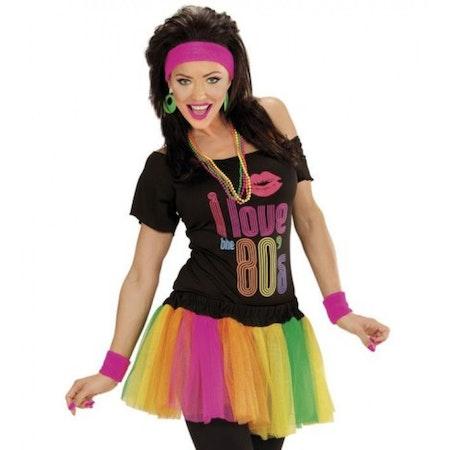 Pride färgad kjol Tutukjol