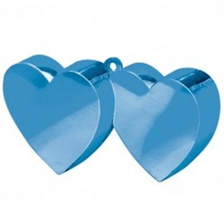 Ballongvikt mörkblå hjärta