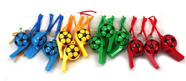 Fotbolls visselpipa