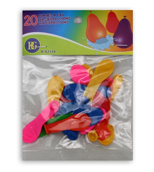 Vattenballonger 20-pack