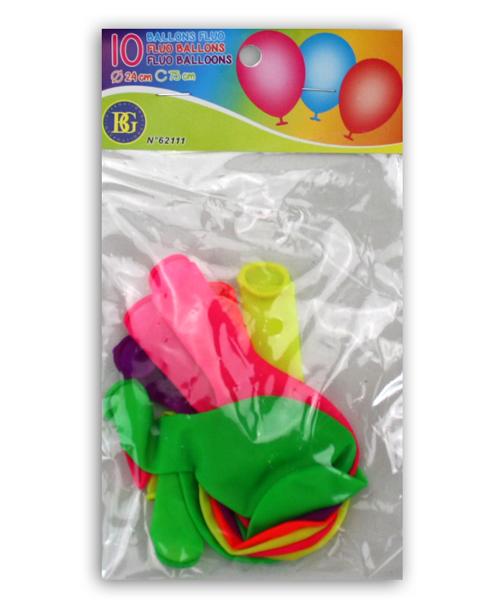 NEON ballonger 10-pack