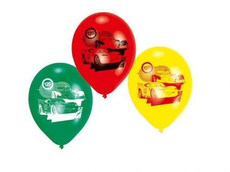 Bilar 2 ballonger 6-pack