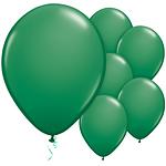 Gröna Latex Ballonger