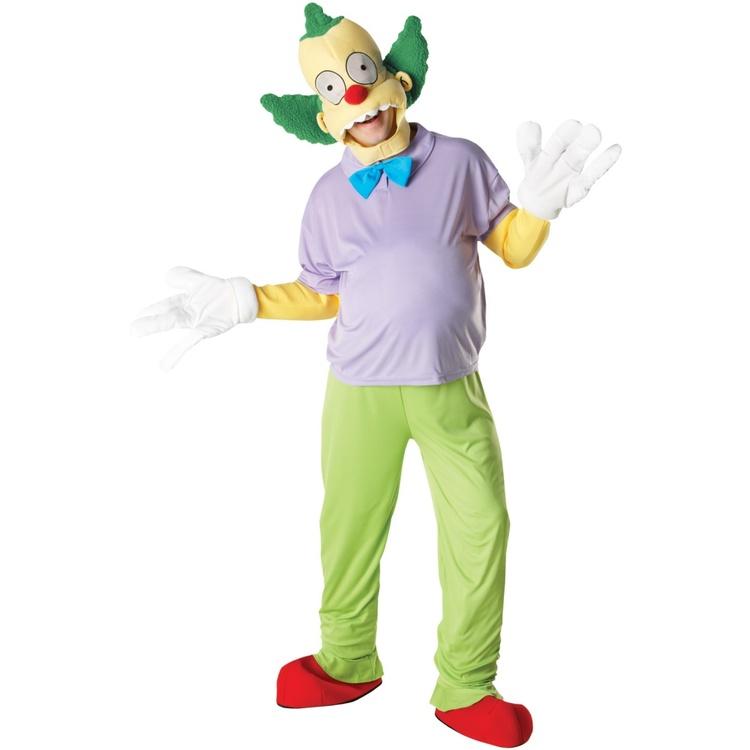 Clownen Crusty Simpsons Maskeraddräkt