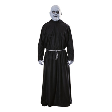 Farbror Fester Addams Family med Mask Maskeraddräkt Halloween