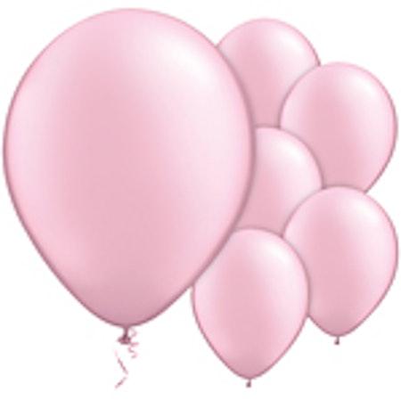 Rosa Latex ballonger 10-pack