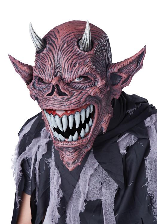 Djävul ansiktsmask Halloween