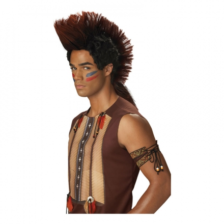 Indiankrigare peruk