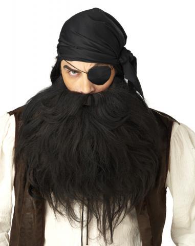 Pirat skägg och Mustasch
