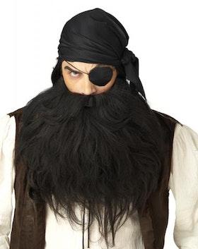 Piratskägg och mustasch