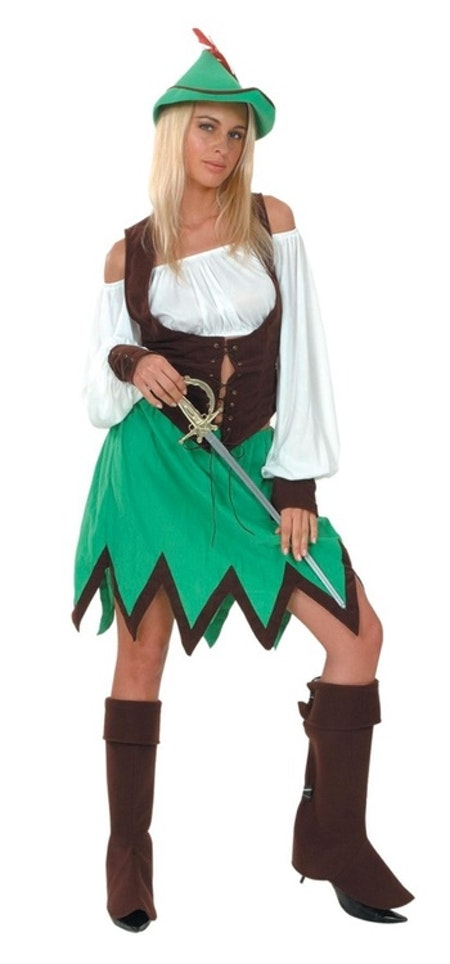 Lady Robin Hood Maskeraddräkt