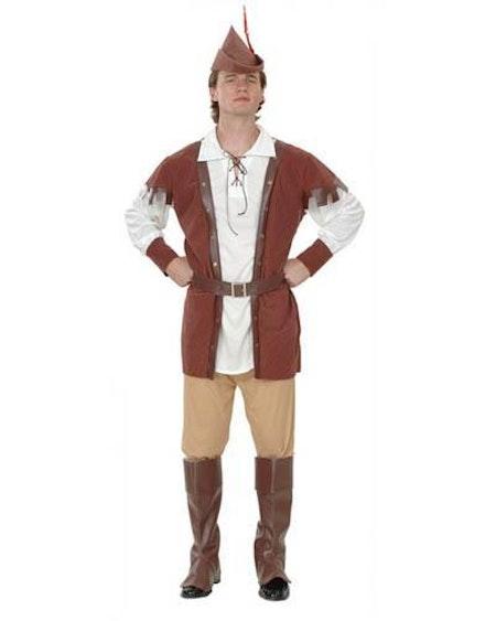Jägare Robin Hood Maskeraddräkt