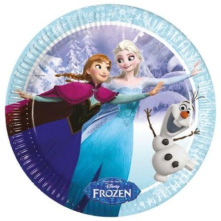 Disney Frozen Frost Forst Ice tallrikar 8-pack