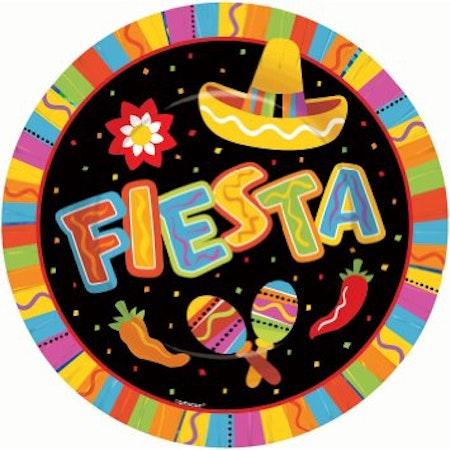 Fiesta XL tallrik 8-pack