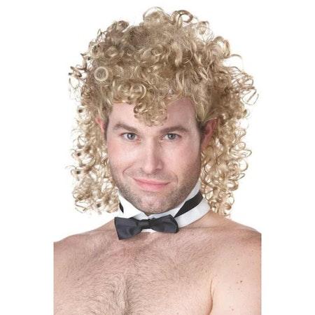 Manlig Strippa Blond Peruk