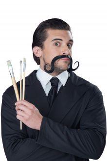 Konstnärs mustasch
